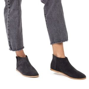 TKEES Sienna Boot - Washed Black Leather Suede 8